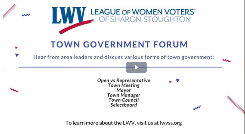 Town Government Forum